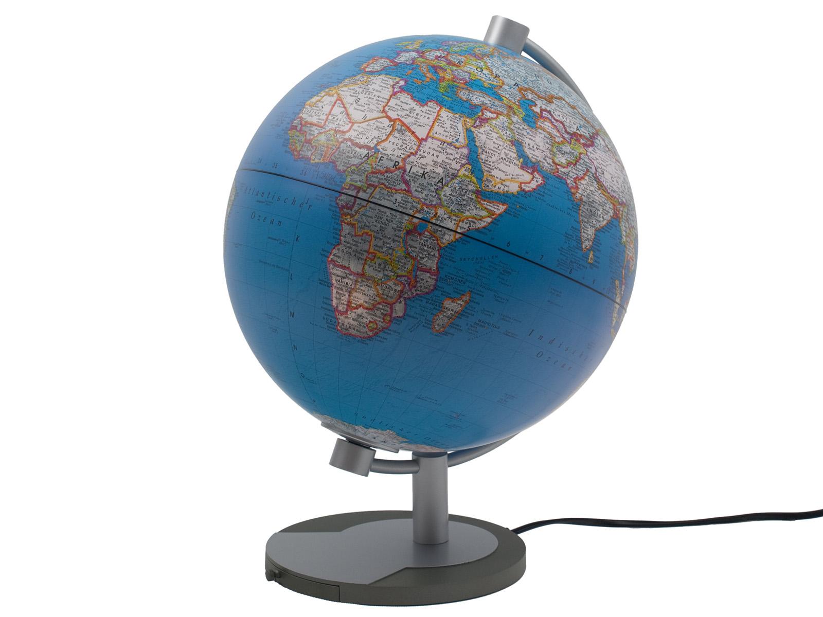 globus beleuchtet leuchtglobus sch lerglobus lernglobus. Black Bedroom Furniture Sets. Home Design Ideas